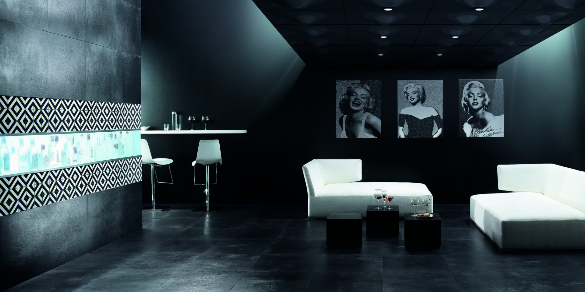 BLACK & WHITE phối cảnh