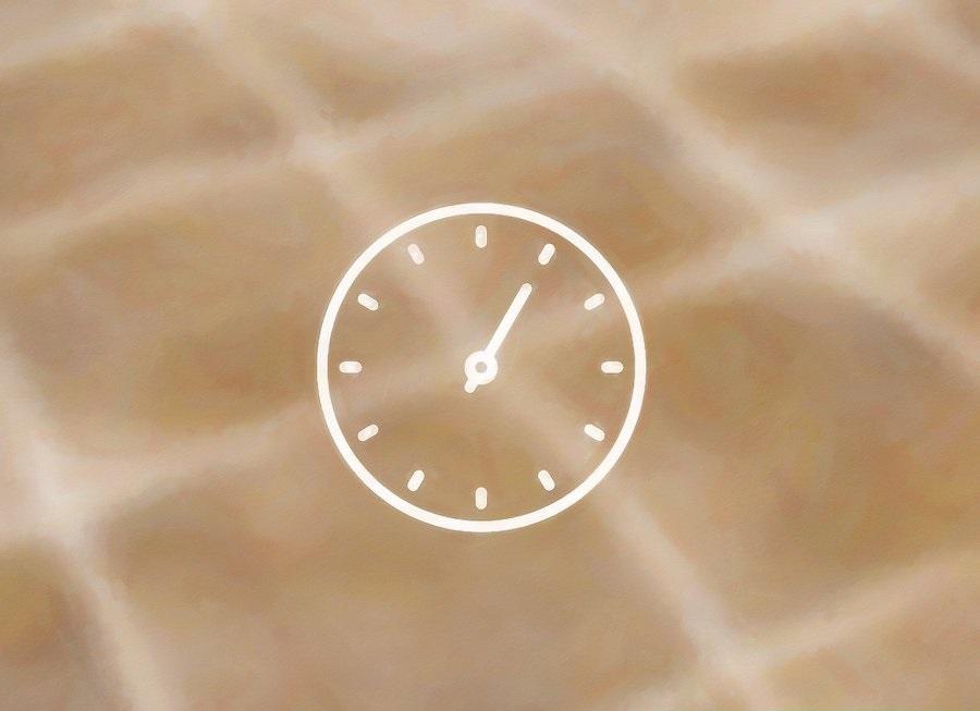 Để yên hỗn hợp trên bề mặt ron trong 15 phút