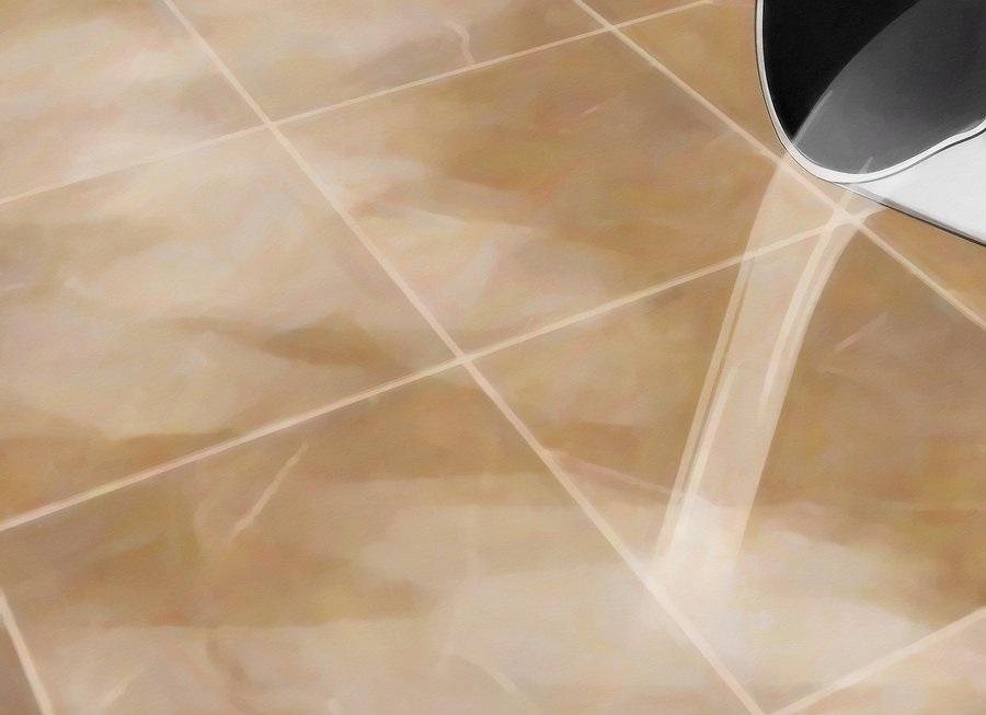 Rửa sạch khe ron bằng nước nóng để loại bỏ hoàn toàn hỗn hợp
