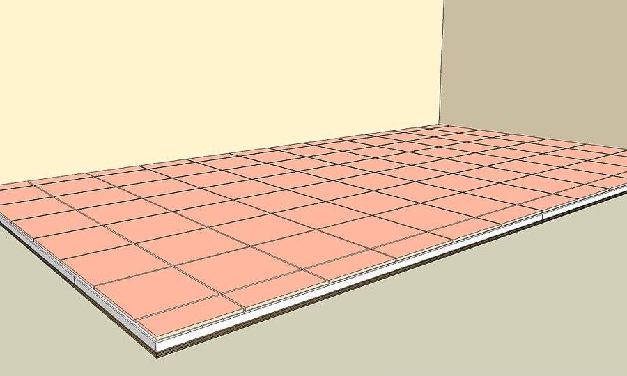 Khi sàn nhà của bạn lát thử và tất cả các viên gạch được lát, đo, và cắt, và hoàn thiện đúng ý thích bạn, bạn đã sẵn sàng để lát với keo dán gạch