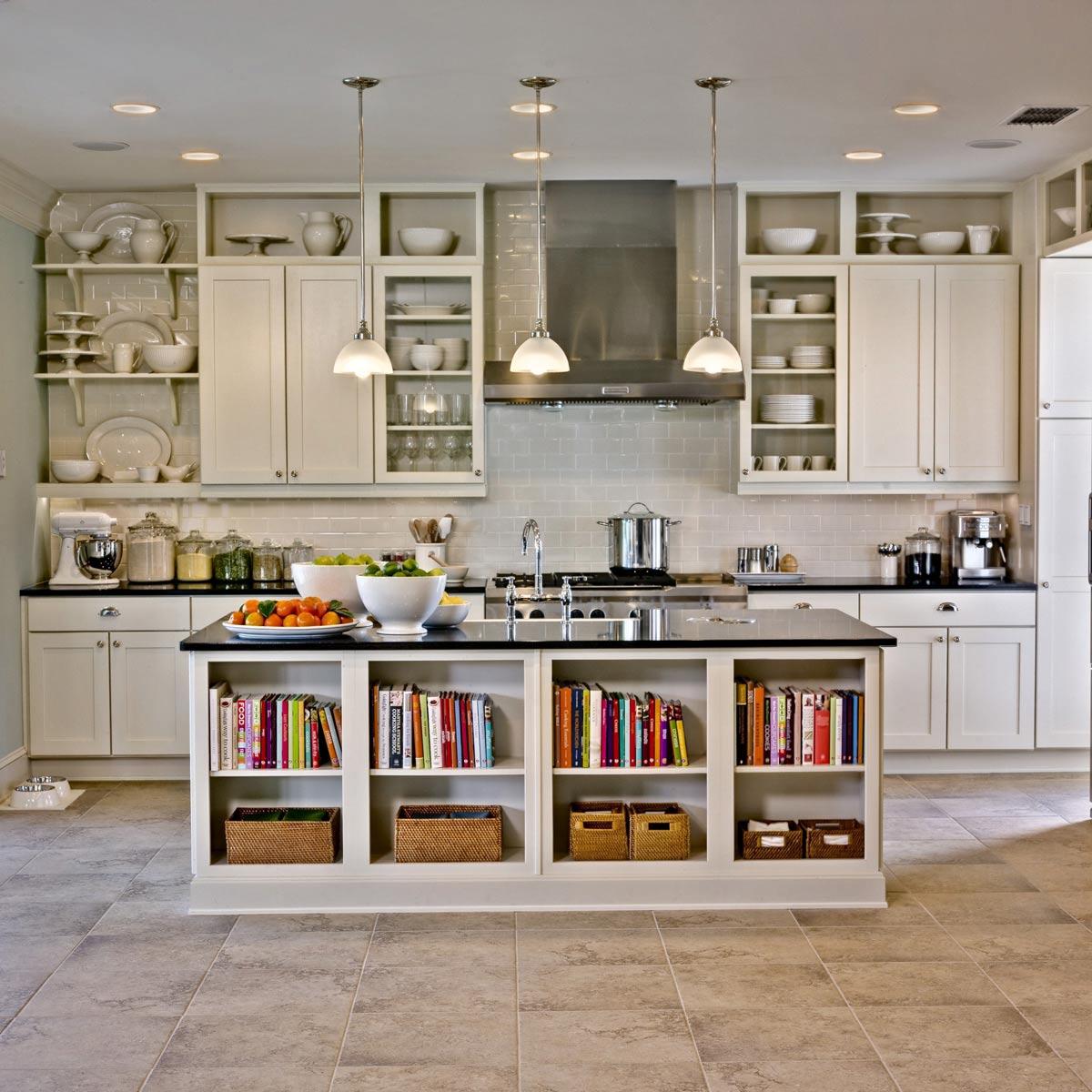 một căn bếp với gạch ốp đẹp có thể làm cho người nấu ăn có cảm hứng làm bếp và thêm yêu việc nấu những bữa ăn thật ngon cho gia đình và những người thân yêu