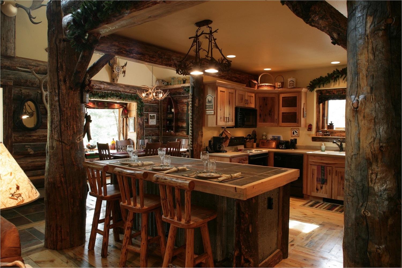 Chọn gạch ốp đảo bếp theo phong cách thô mộc cho người hoài cổ
