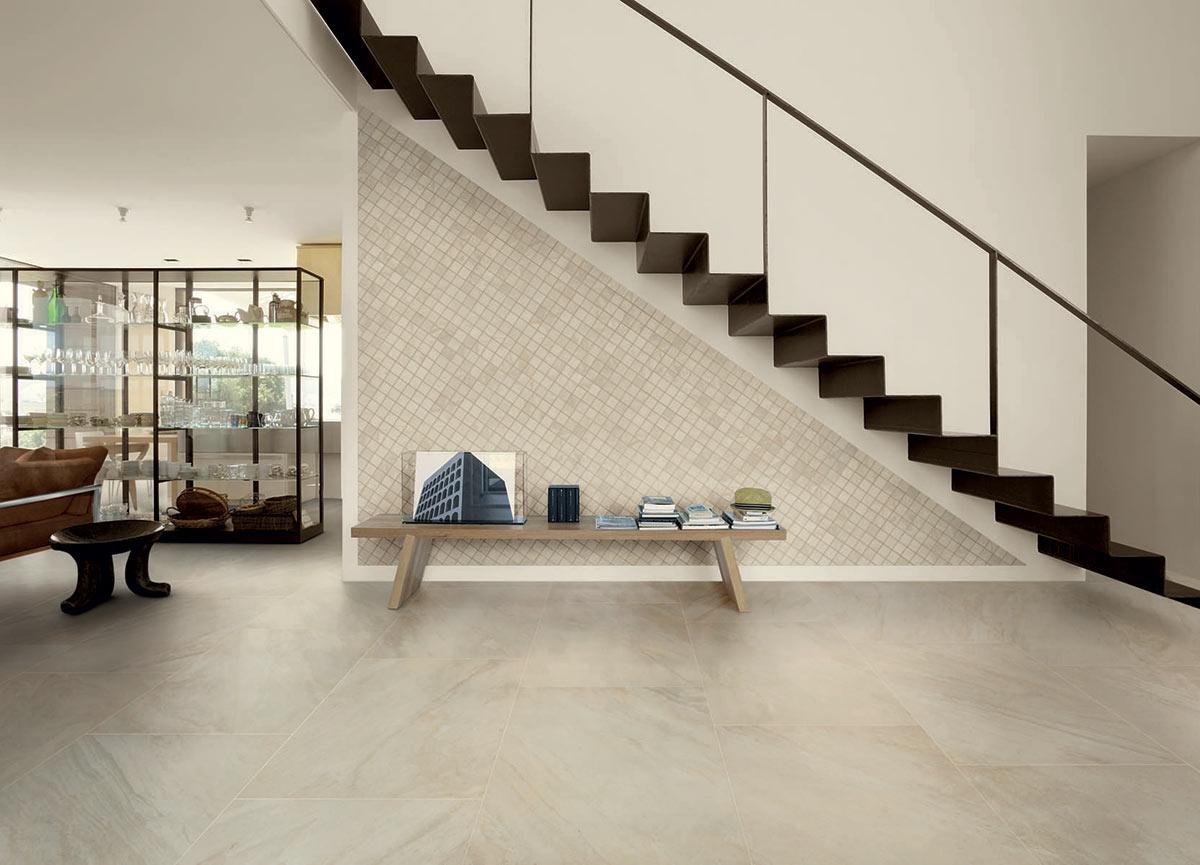 Lát gạch tạo ra phong cách riêng cho mình (mẫu gạch Inner Shore từ Ceramiche Caesar)